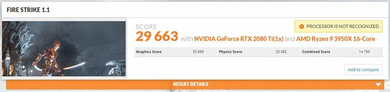 16 ядер, але різні. AMD Ryzen 9 3950X обійшов Intel Core i9-10980XE в 3DMark з великим відривом