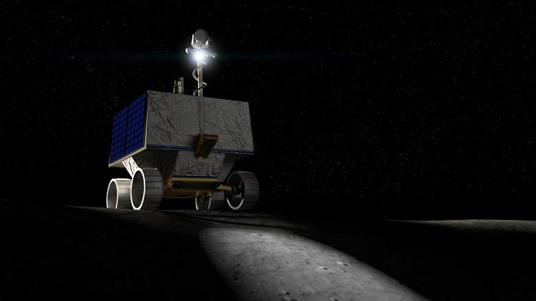 NASA планирует в 2022 году отправить на Луну робота, который будет искать воду