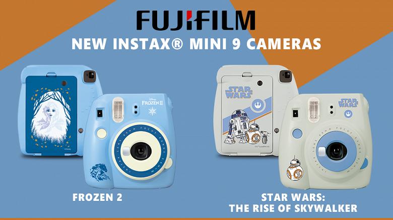 Выпуск камер Fujifilm instax mini 9 Frozen 2 и Star Wars приурочен к выходу новых фильмов