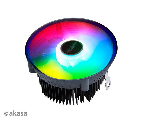 Варианты процессорной системы охлаждения Akasa Vegas Chroma различаются высотой