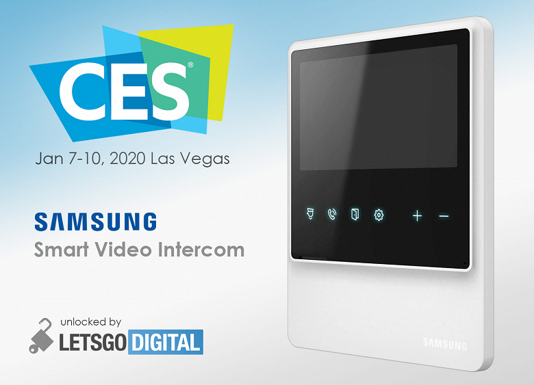 Samsung создала новый умный видеодомофон с большим дисплеем