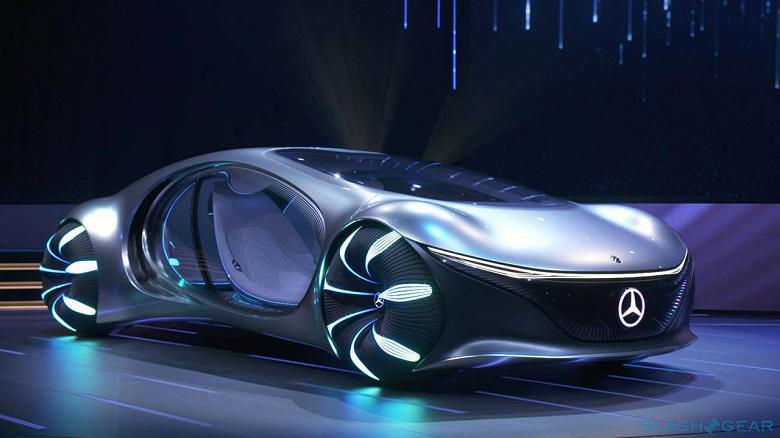 Mercedes-Benz представила симбиотический электромобиль VISION AVTR в стилистике «Аватара»