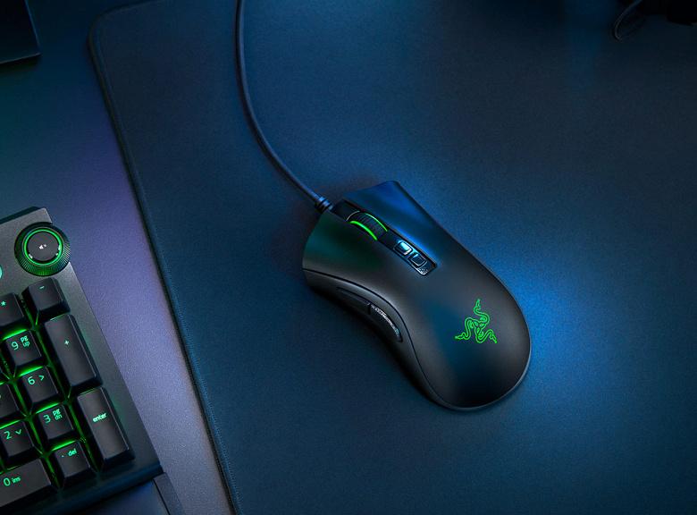Представлена игровая мышь Razer DeathAdder V2