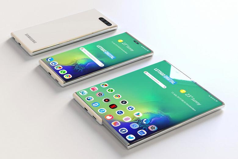 Секретный анонс Samsung. Компания привезла на CES 2020 смартфон с гибким экраном в совершенно новом форм-факторе