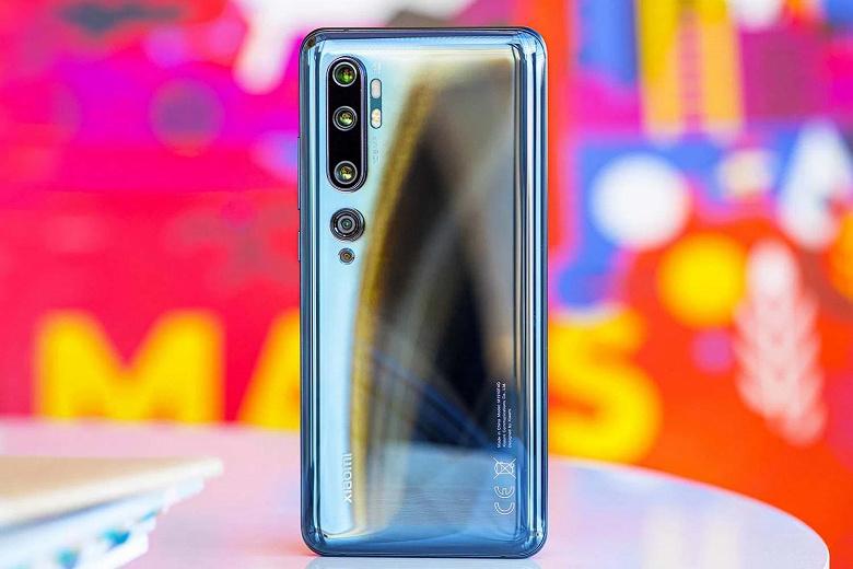 Xiaomi Mi 10 — первый в мире смартфон на Snapdragon 865
