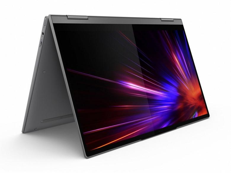Lenovo Yoga 5G — недешевый ноутбук-перевертыш на платформе Snapdragon 8cx