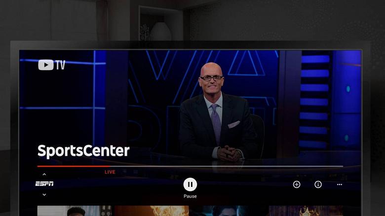 YouTube TV заработал на Sony PlayStation 4