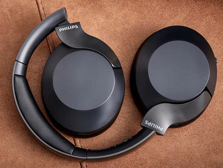 Беспроводные наушники Philips TAPH805BK с активным шумоподавлением работают без подзарядки 30 ч