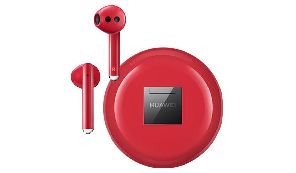 В Россию приехали праздничные наушники Huawei FreeBuds 3