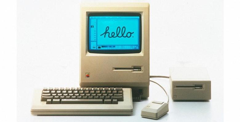 Первый компьютер Apple Macintosh был представлен ровно 36 лет назад