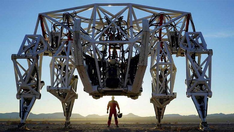 Такого крутого гигантского робота вы ещё не видели. Разве что в фильме Wild Wild West