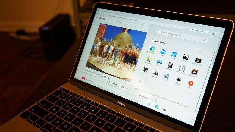 Как работает MacBook с новейшей Windows 10X