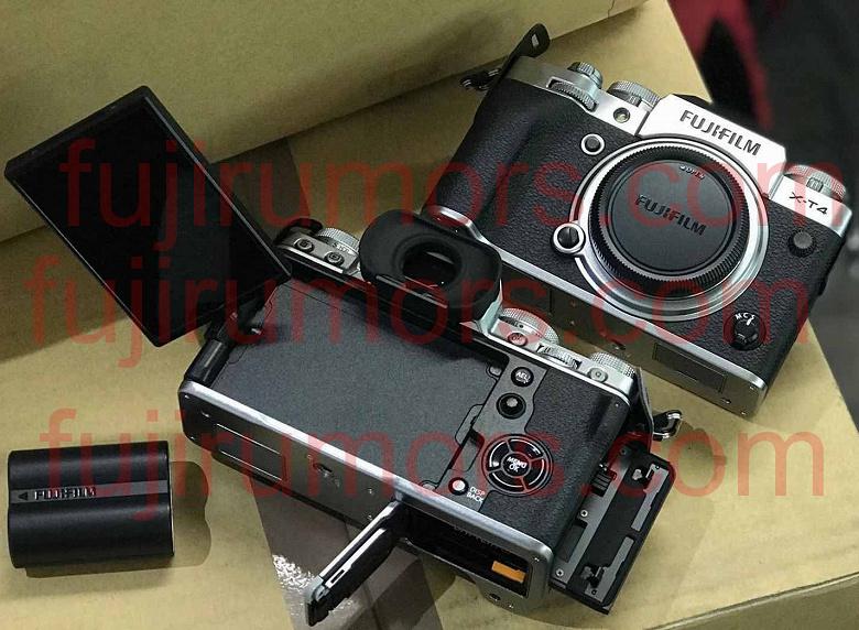 Появилось новое изображение камеры Fujifilm X-T4