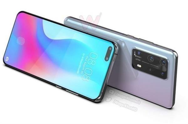 Забудьте о Mi 10 и Galaxy S20. Huawei P40 Pro с пентакамерой позирует на новых рендерах