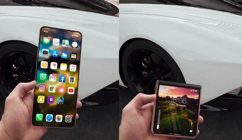 Вот как могла бы выглядеть раскладушка iPhone 12 Flip