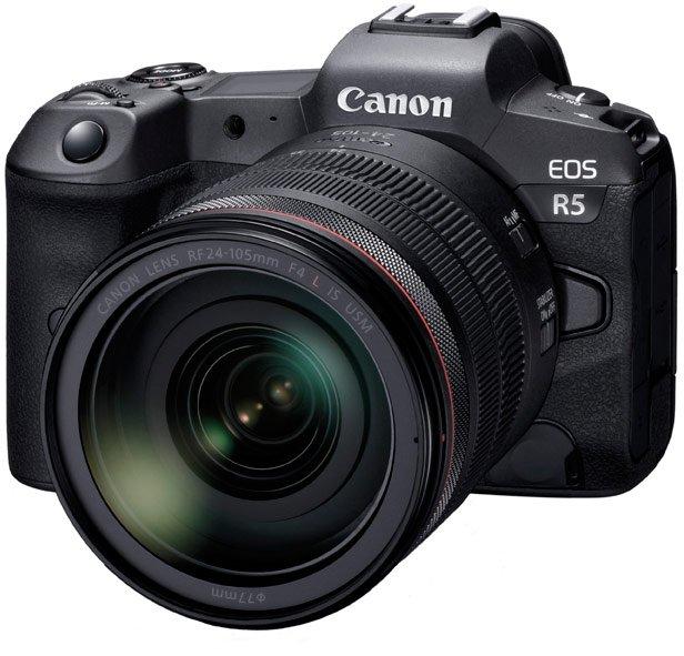 Анонсирована разработка беззеркальной камеры Canon EOS R5, способной снимать видео 8K
