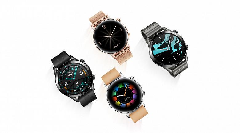 Начались продажи премиальных умных часов Huawei Watch GT 2 в России