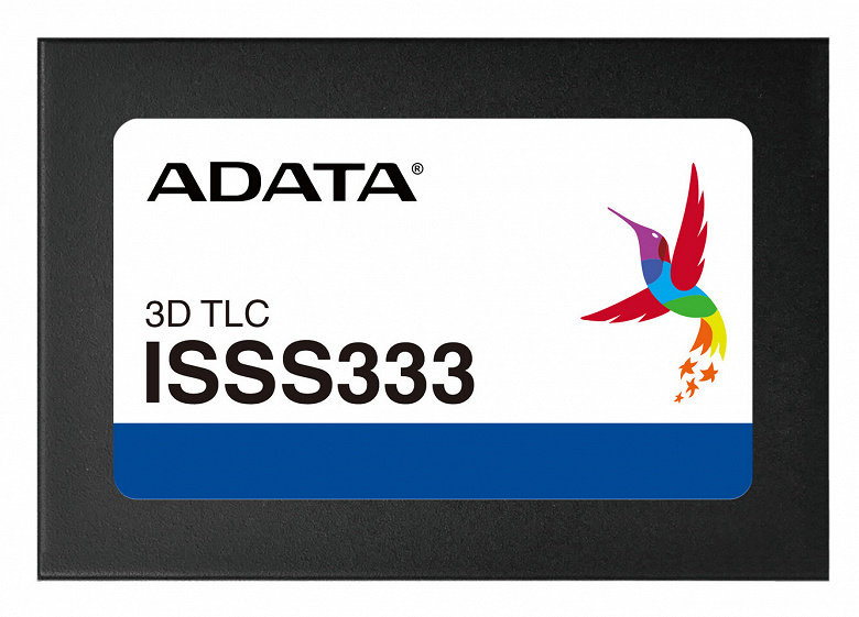 Твердотельные накопители Adata ISSS333 защищены от потери данных при отключении питания