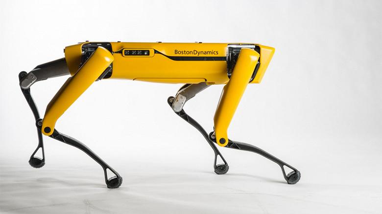 Робот-пес Spot компании Boston Dynamics Spot будет патрулировать нефтяную платформу в Норвегии