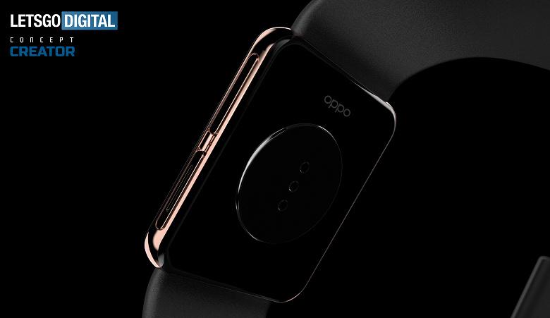 Умные часы Oppo с датчиком ЭКГ и функцией звонков на качественных рендерах