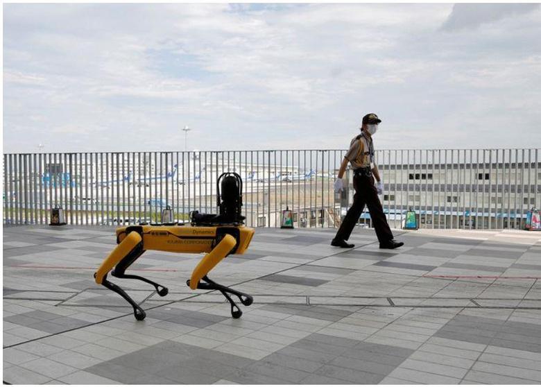 Робот-собака Boston Dynamics Spot осваивает профессию нефтяника