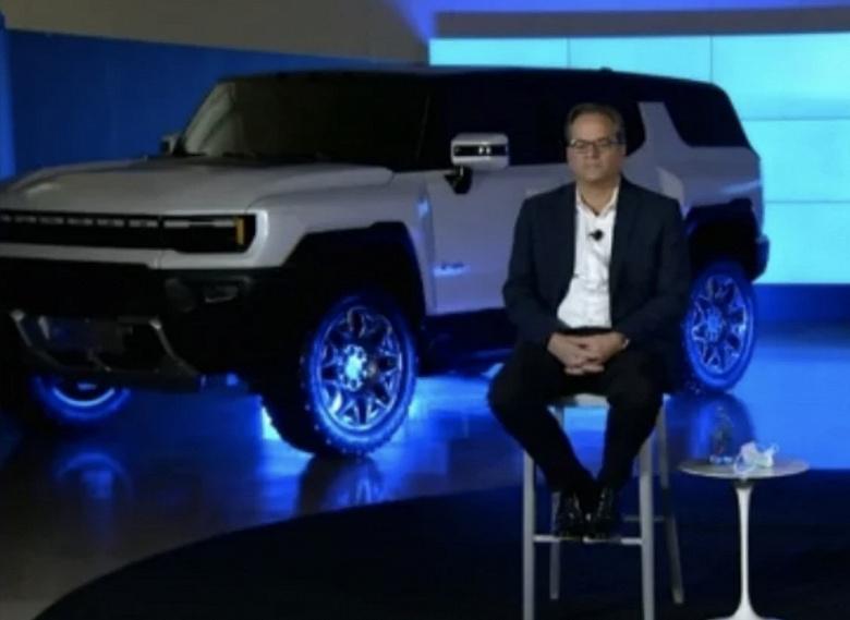 General Motors показала электрический внедорожник Hummer