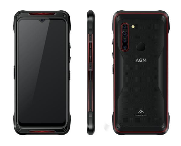 В Китае стартуют продажи защищенного смартфона AGM X5 с поддержкой 5G