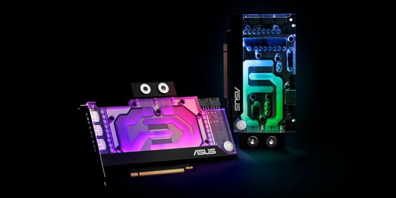 Компания EK рассказала о водоблоках для видеокарт серии GeForce RTX 30, созданных совместно с Asus