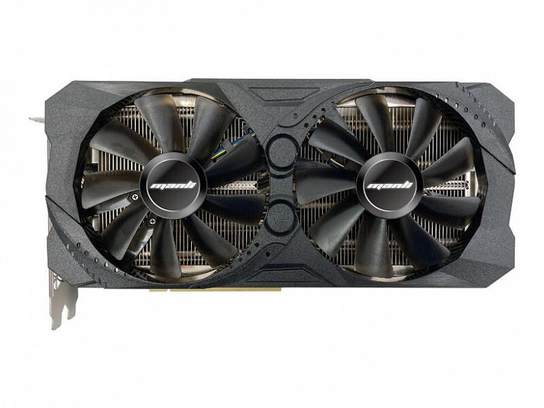 Представлена видеокарта Manli GeForce RTX 3070