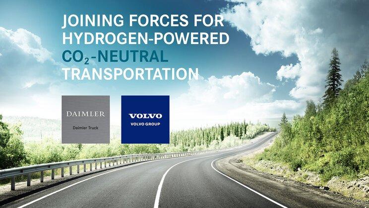Volvo Group и Daimler Truck AG создают совместное предприятие по производству топливных элементов