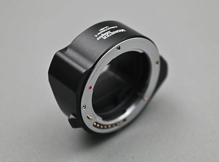 Адаптер MonsterAdapter LA-KE1 позволит устанавливать объективы с креплением Pentax K на камеры с креплением Sony E
