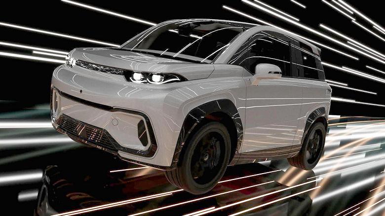 Электрический кроссовер КАМАЗ сможет проезжать 300 км на одной зарядке и разгоняться до 150 км/ч
