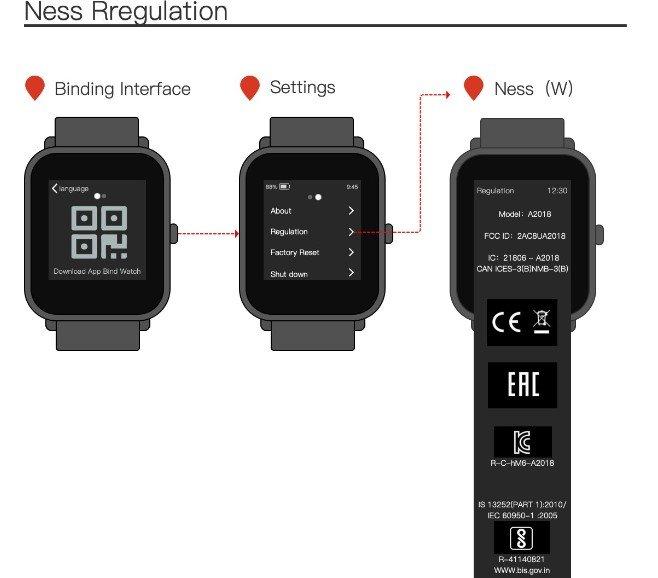 Первые изображение доступных часов Amazfit GTS 2 Mini