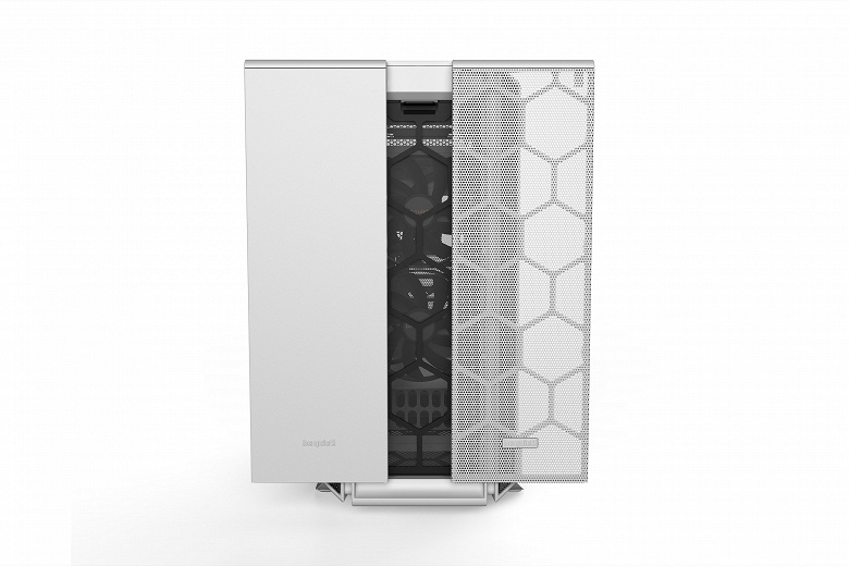 Компьютерный корпус Silent Base 802 будет доступен в черном и белом цвете