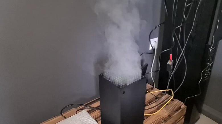 Что не так с Xbox Series X? Дымящиеся консоли стали хитом соцсетей