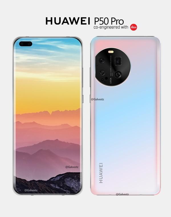 Первые изображения Huawei P50 Pro