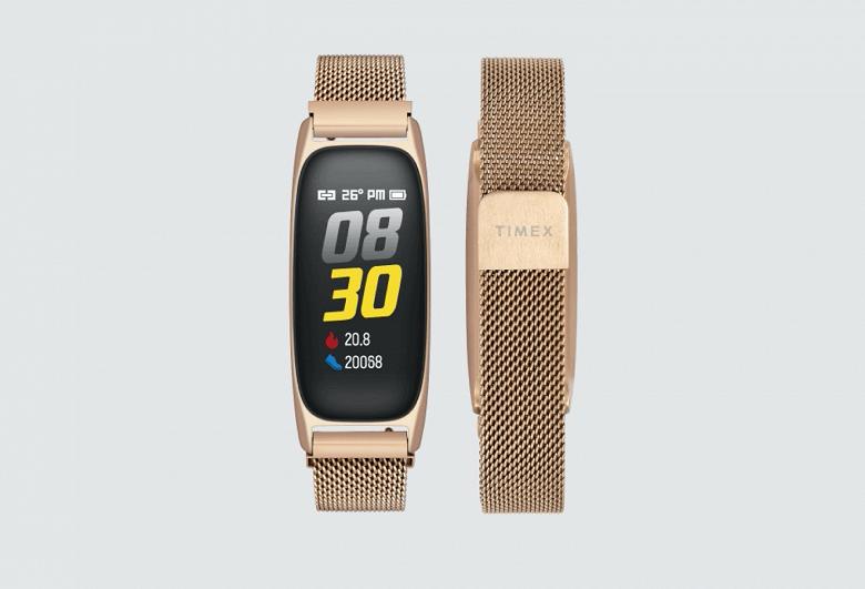 Известный производитель часов Timex представил металлический фитнес-трекер с сетчатым ремешком из нержавеющей стали