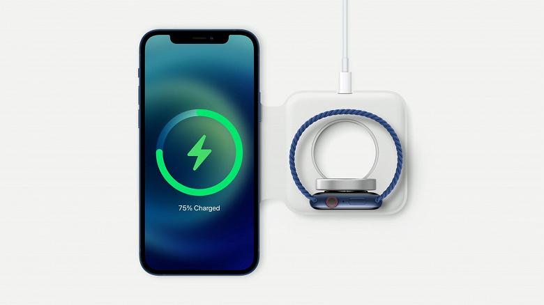 Apple призналась, что дорогущая зарядка MagSafe Duo оказалась медленнее обычной MagSafe