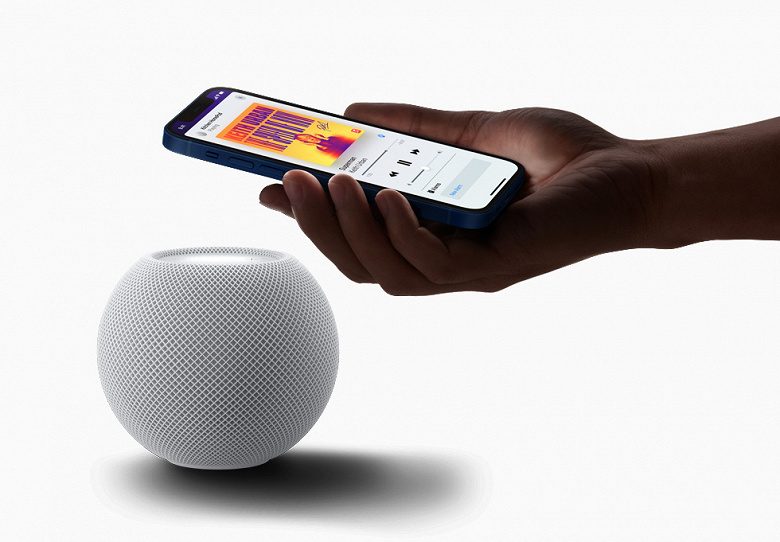 Apple открыла предзаказ на умную колонку-интерком HomePod mini