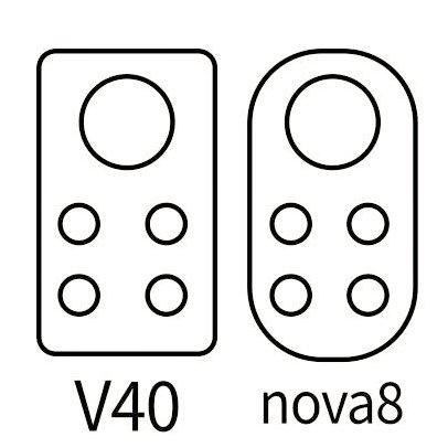 Huawei Nova 8 и Honor V40 получат такие камеры. Опубликованы первые эскизы
