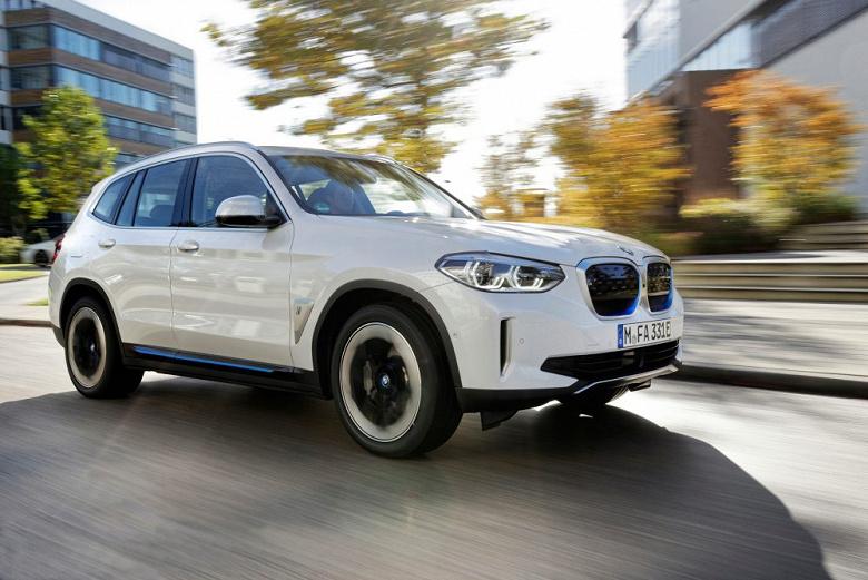 Представлен электромобиль BMW iX3