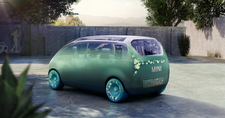 BMW Mini Urbanaut — концептуальное представление о небольшом электромобиле будущего