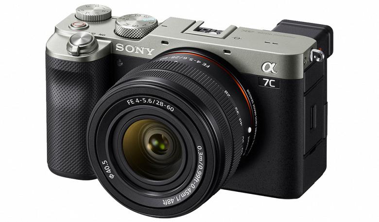Самая компактная полнокадровая камера Sony Alpha 7C прибывает в Россию