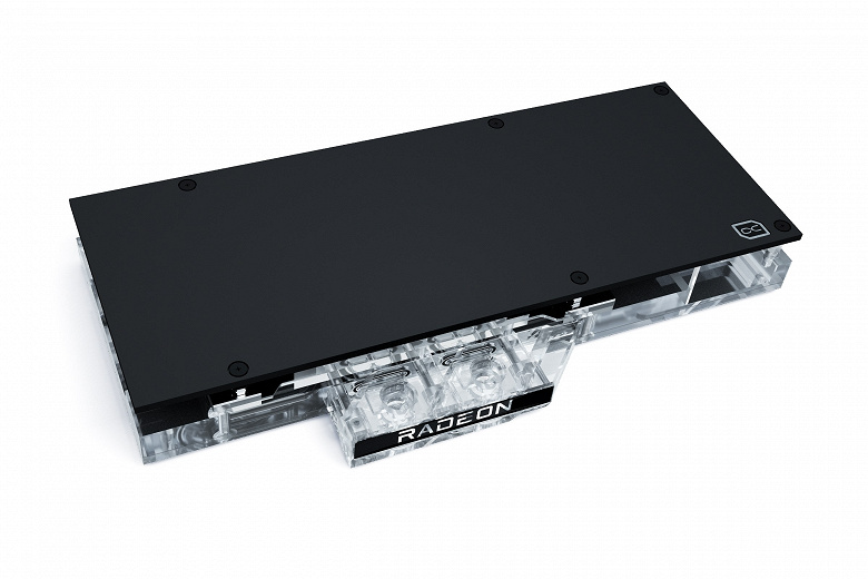 Водоблок Alphacool Eisblock Aurora GPX-A 6800(XT) предназначен для референсных видеокарт Radeon RX 6800 и 6800 XT