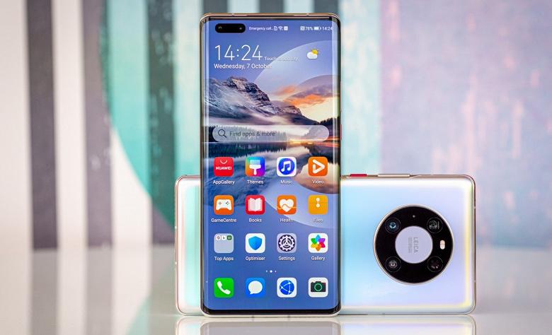 В России стартовали продажи дефицитного Huawei Mate 40 Pro