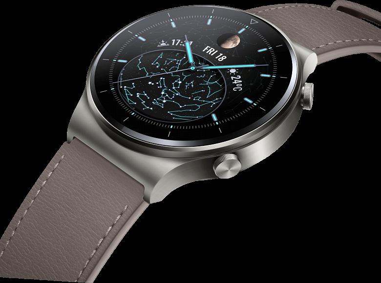 Умные часы Huawei Watch GT 2 Pro с функцией снятия электрокардиограммы выходят 12 декабря