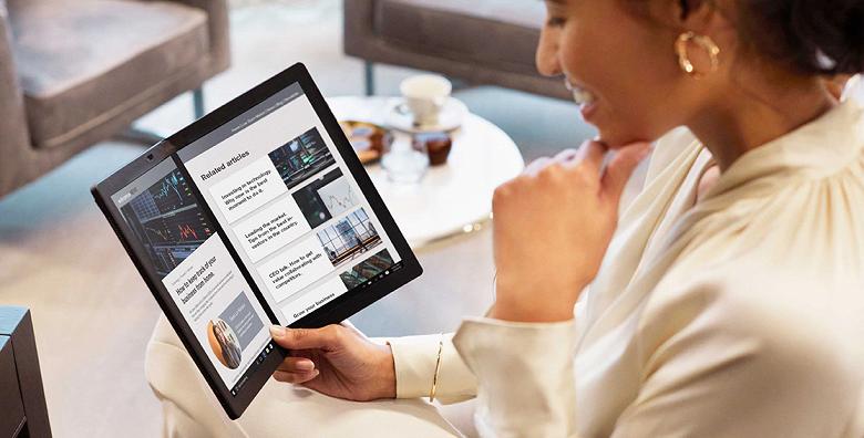 Первый в мире ноутбук с гибким складным экраном Lenovo ThinkPad X1 Fold прибыл в Россию дороже двух новеньких MacBook Pro
