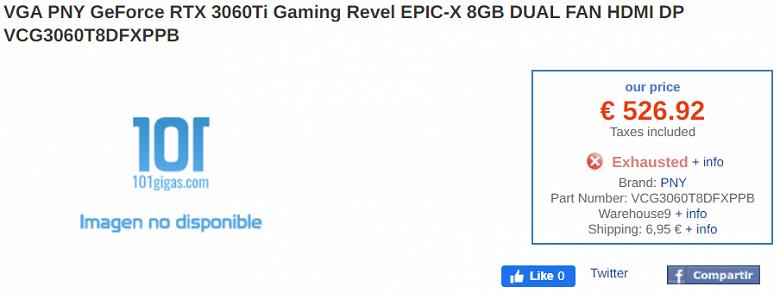 Забудьте о $400. GeForce RTX 3060 Ti оказалось гораздо дороже