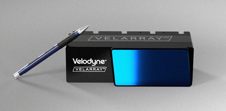 Твердотельный лидар Velarray H800 предназначен систем ADAS и самоуправляемых машин