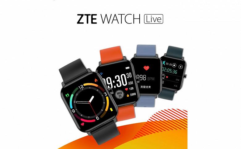 Представлены доступные и долгоиграющие умные часы ZTE Watch Live